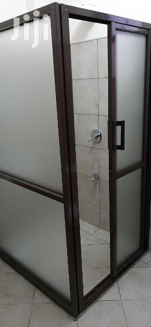 Fabrication of Alumininium With Glass Shower Cubicle   Building & Trades Services for sale in Nairobi, Lavington
