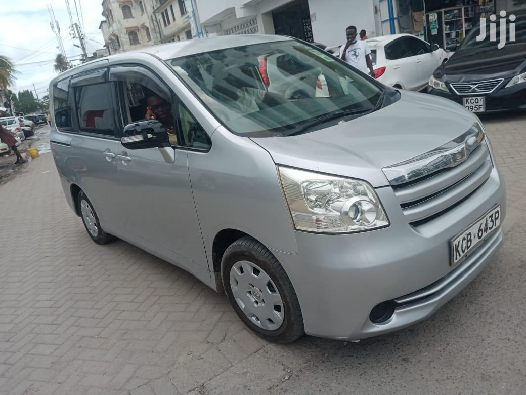 Toyota Noah 2009 Silver   Cars for sale in Mvita, Mombasa, Kenya