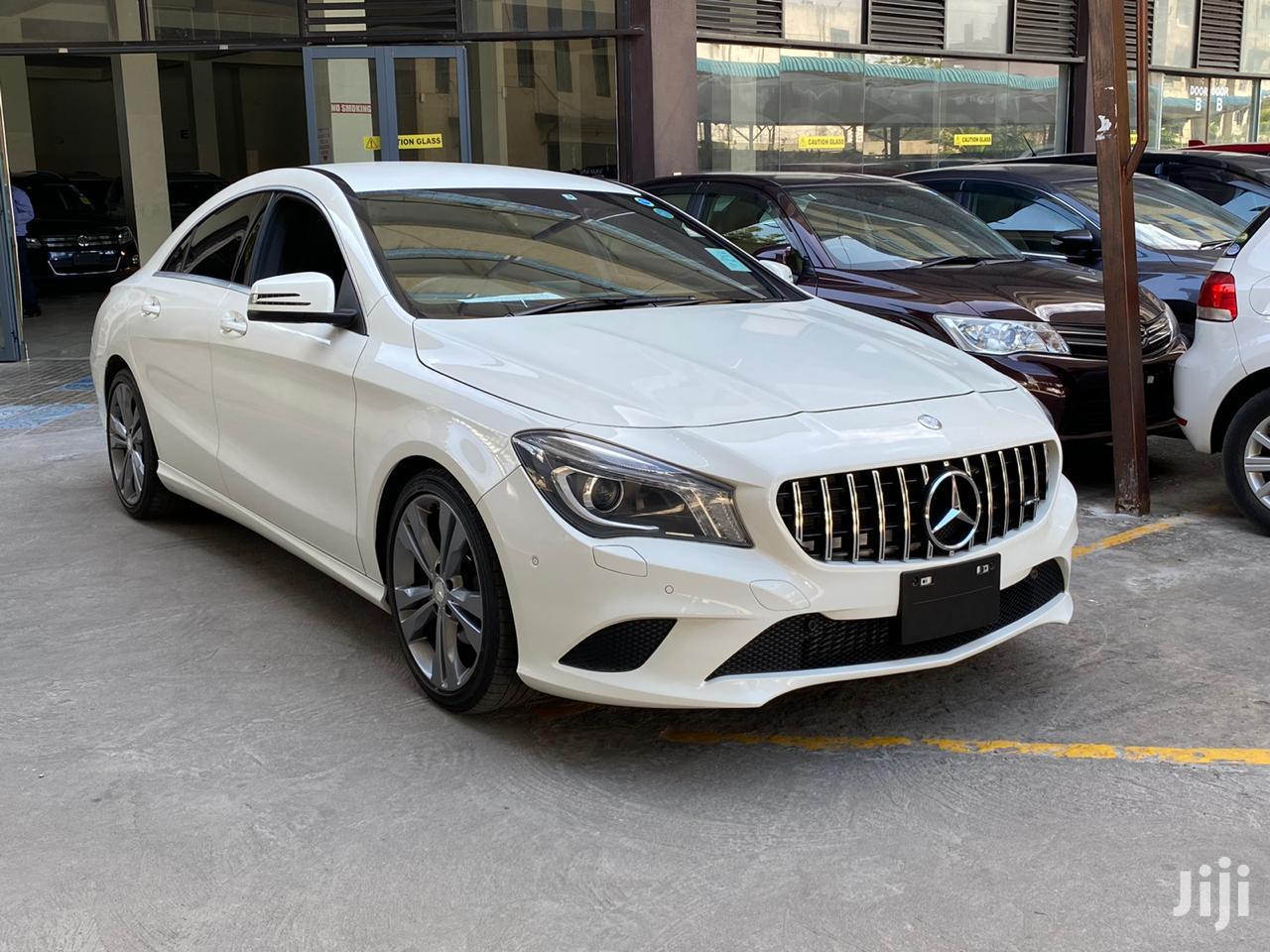 Mercedes-Benz CLA-Class 2013 White