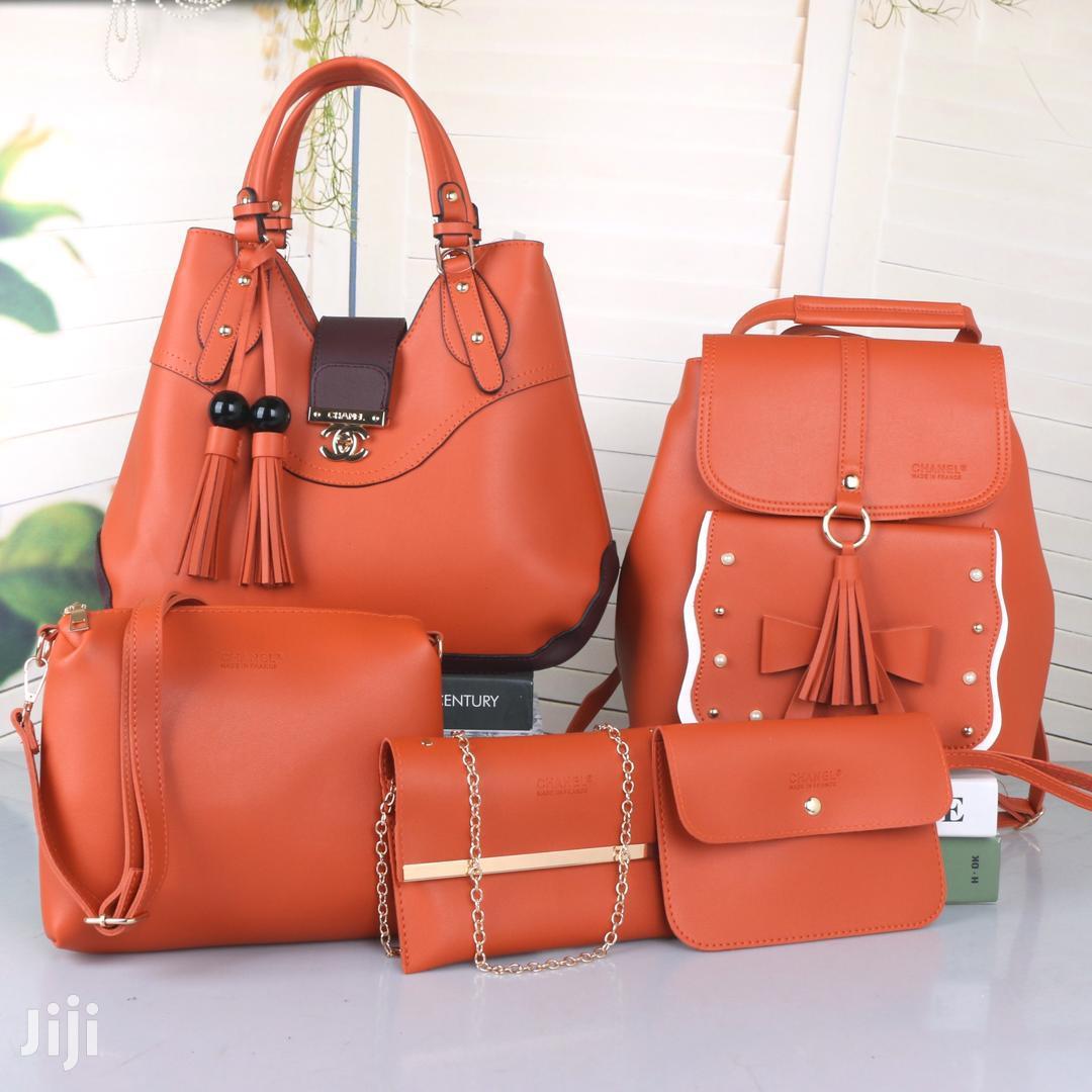 5 In 1 Leather Handbags | Bags for sale in Embakasi, Nairobi, Kenya