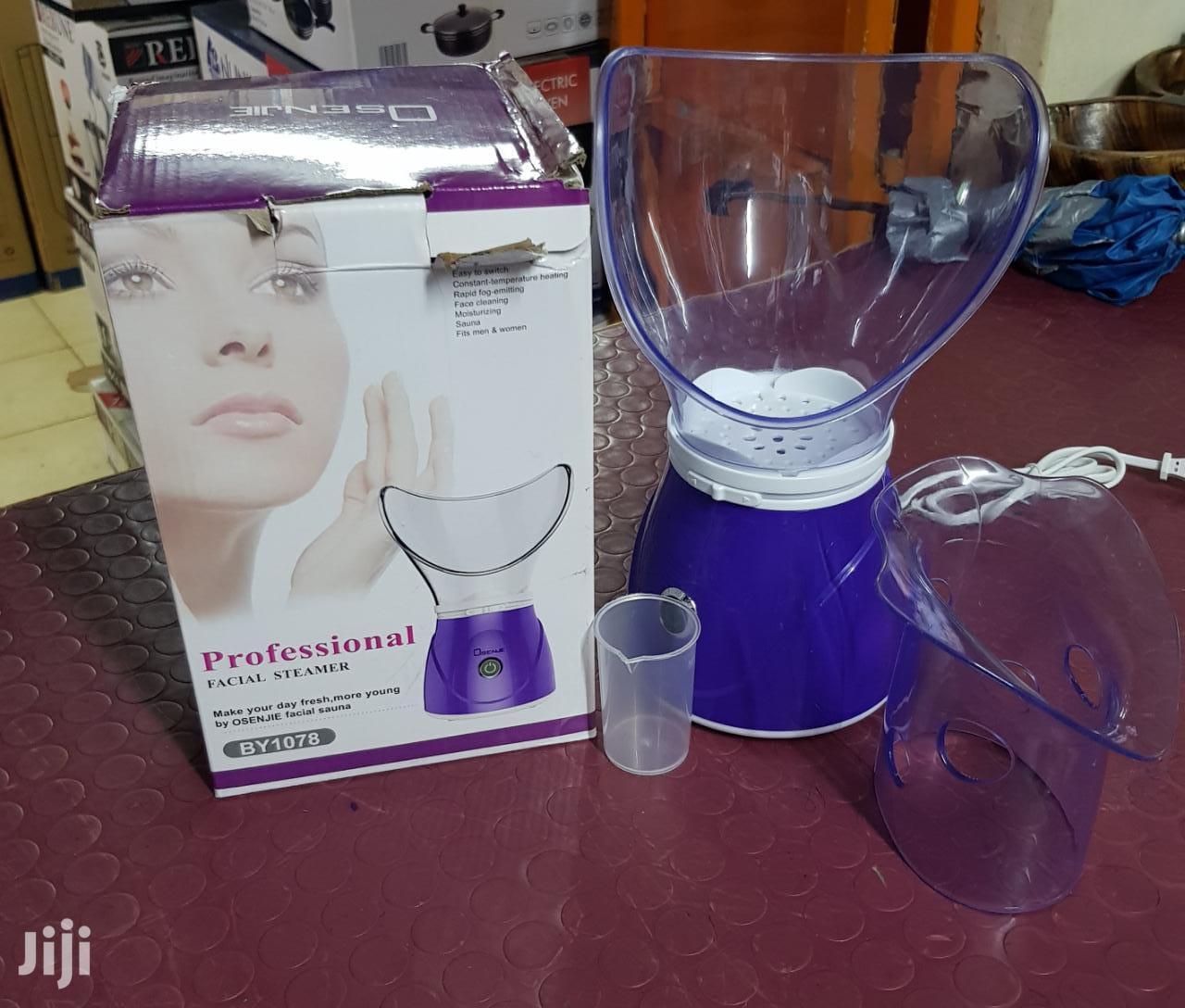 Facial Steamer With Inhaler