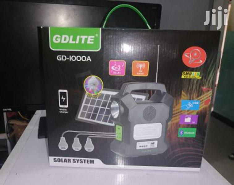 Archive: Home Solar Lighting System Kit With FM Radio Gdlite 1000A