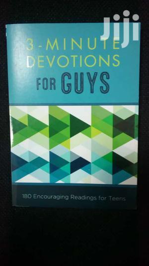 3-Minute Devotions for Guys-Glenn Hascall   Books & Games for sale in Nairobi, Nairobi Central