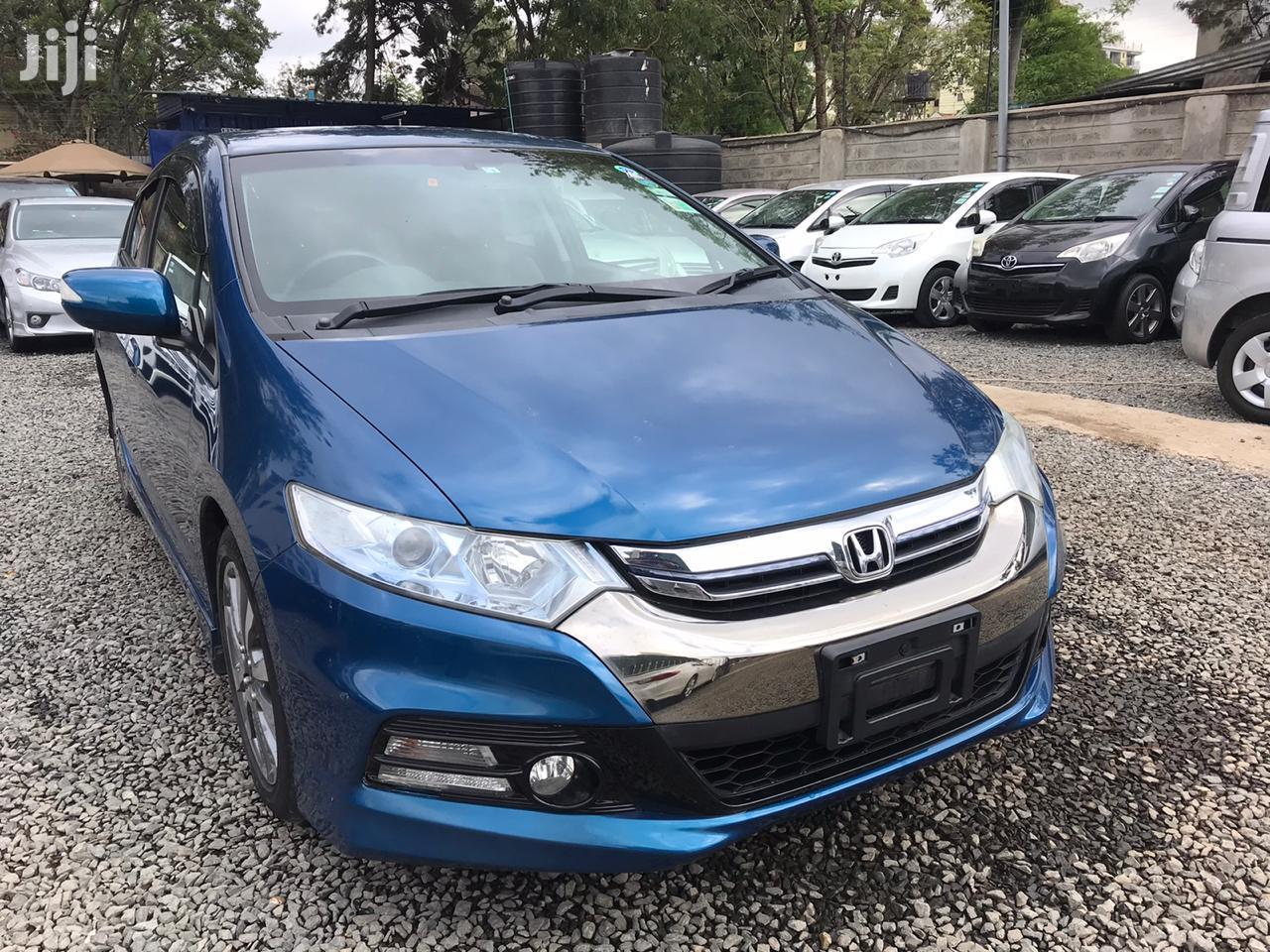 Honda Insight EX 2012 Blue