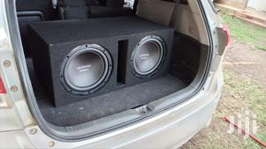 Dual KENWOOD HQR3000 Subwoofers in Slot Cabinet | Vehicle Parts & Accessories for sale in Nairobi, Nairobi Central