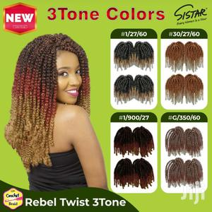 Sistar Rebel Twist 3tone Braids | Hair Beauty for sale in Nairobi, Nairobi Central
