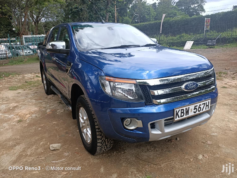 Ford Ranger 2013 Blue