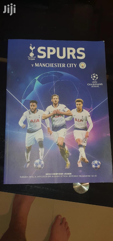 Tottenham Programme. Free.