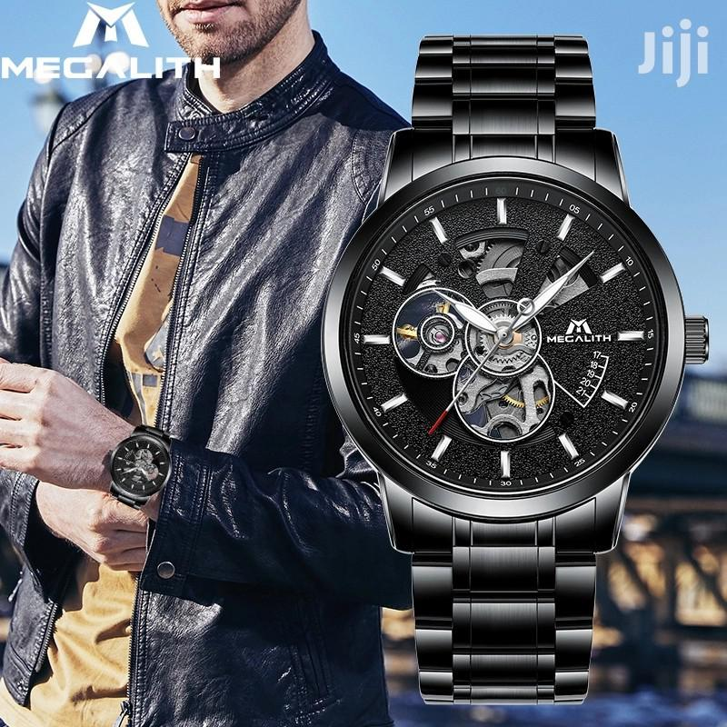 Megalith Automatic Mechanical Self-Wind Watch