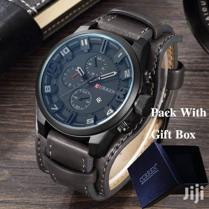 Men's Classic Water Resistant Wrist Watch