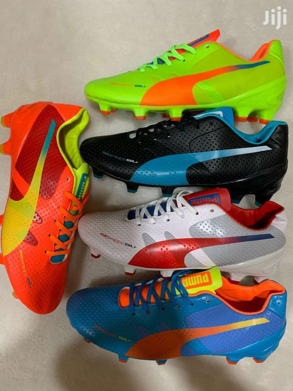 Professional Soccer And Boots