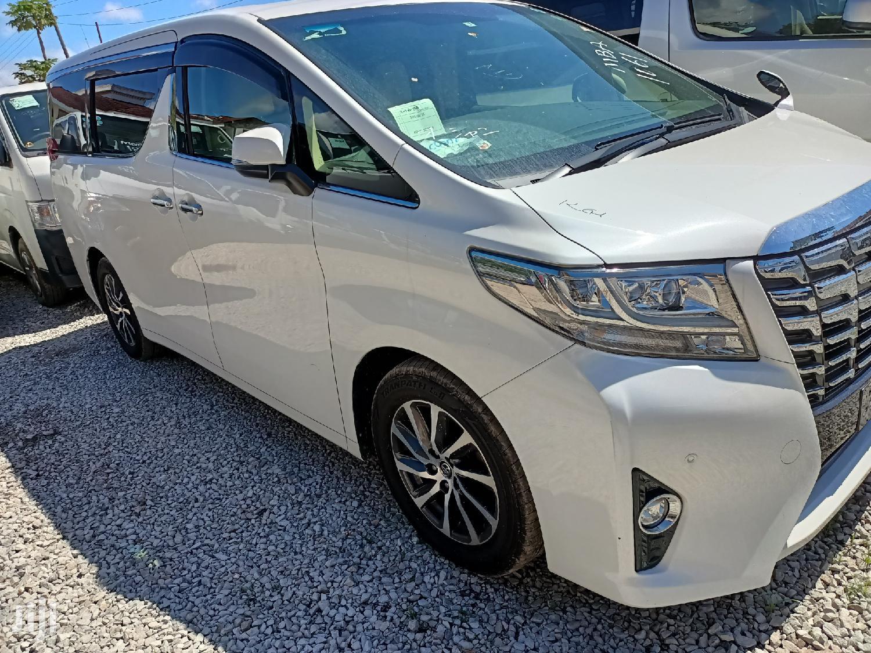 Toyota Alphard 2015 White   Cars for sale in Tudor, Mombasa, Kenya
