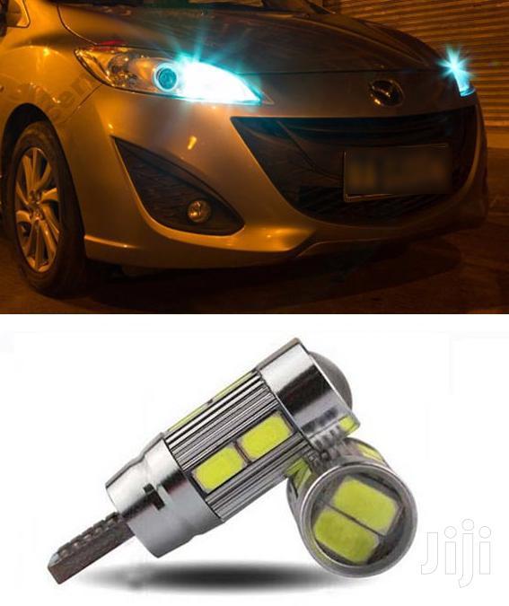 White Parking LED Bulbs: For Toyota,Nissan,Subaru,Mazda,Honda,Benz,Vw