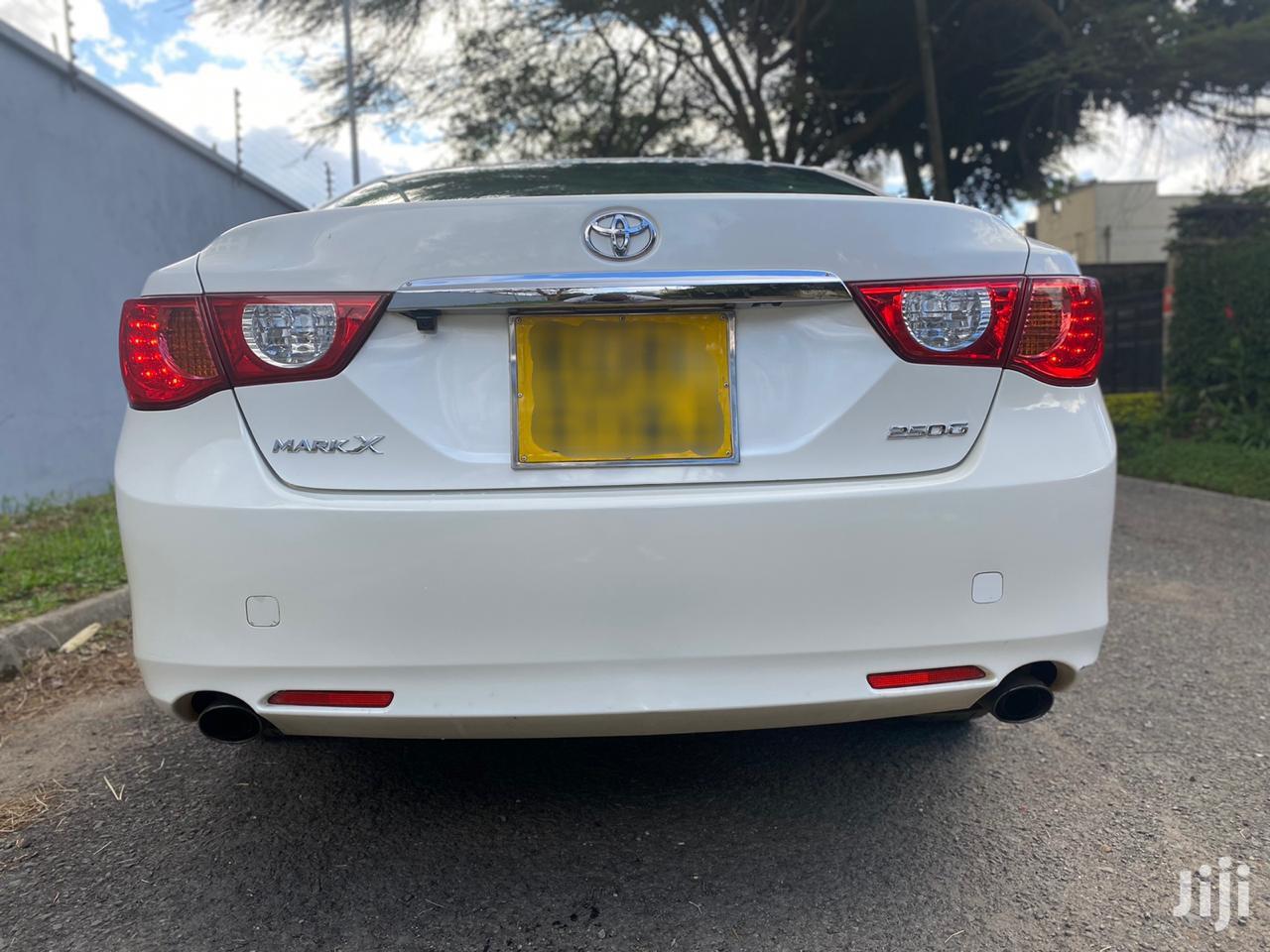 Toyota Mark X 2010 White | Cars for sale in Kilimani, Nairobi, Kenya