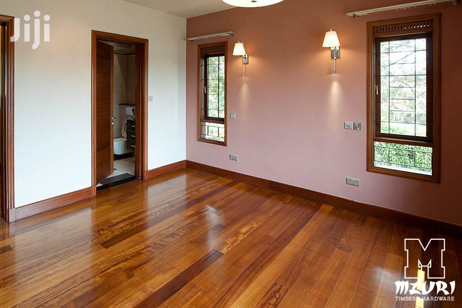 High Quality Mahogany Wooden Floor In Ruiru Nairobi Kenya