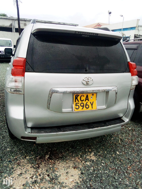 Toyota Land Cruiser Prado 2009 Silver   Cars for sale in Tononoka, Mombasa, Kenya