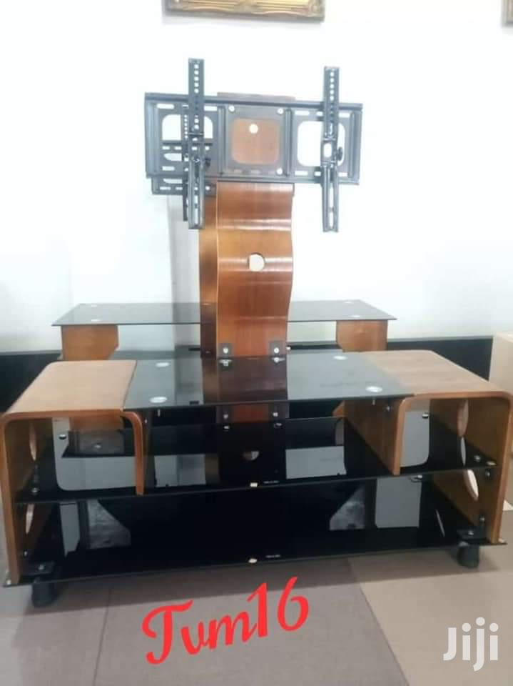 Archive: Mountable TV Stand-Wooden and Steel
