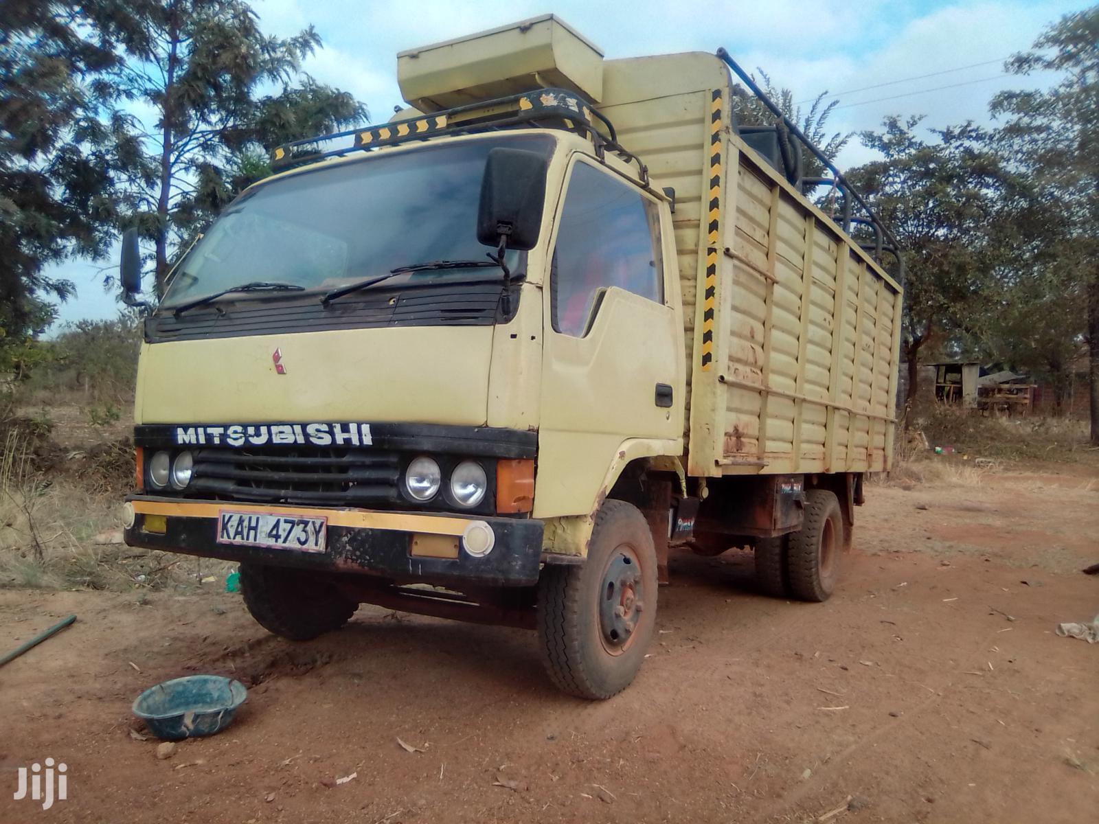 Mitsubishi Canter 4D31 Local 1996 Beige   Trucks & Trailers for sale in Nairobi Central, Nairobi, Kenya
