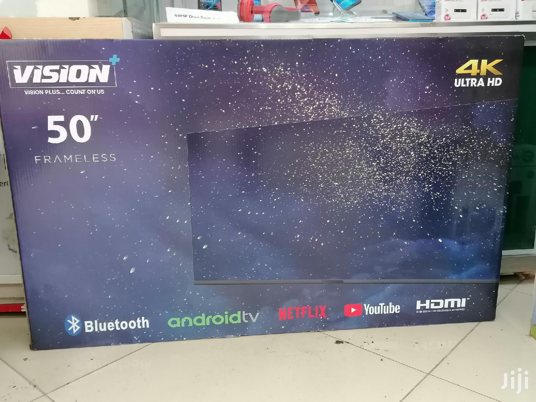 """Vision Plus 55"""" Android, 4K, Frameless Tv"""