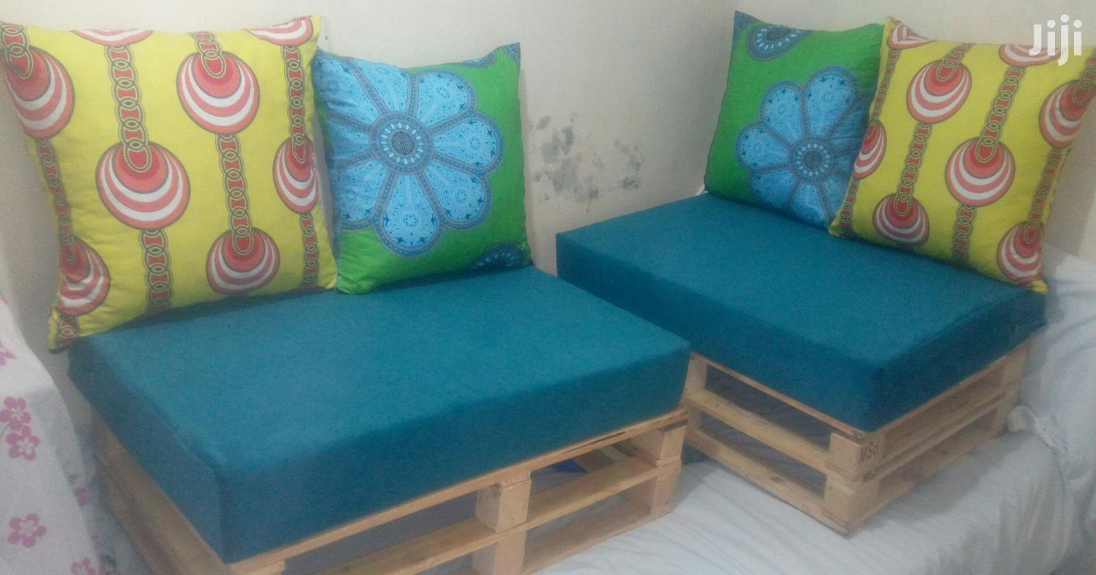 Trendy 4 Seater Pallet Seats/Pallet Sofas/Pallet Furniture