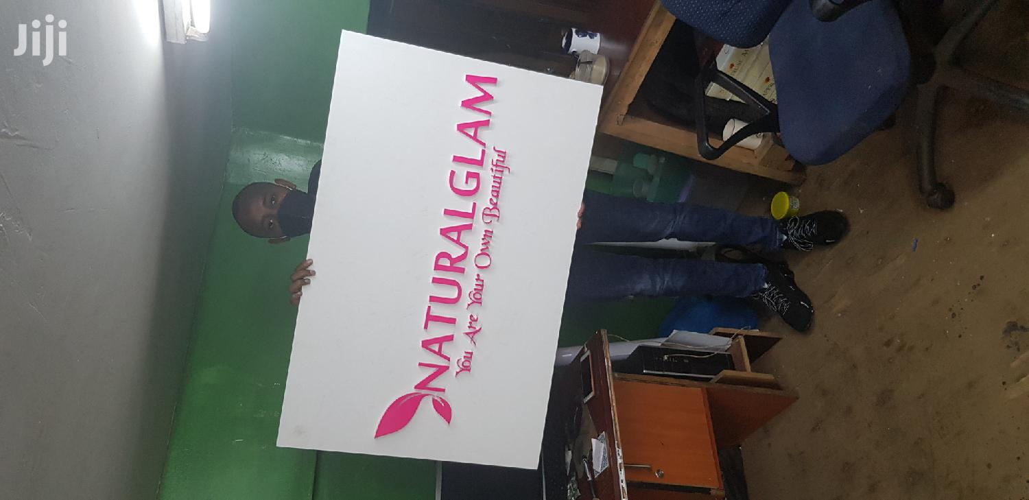 2D And 3D Signage | Printing Services for sale in Nairobi Central, Nairobi, Kenya