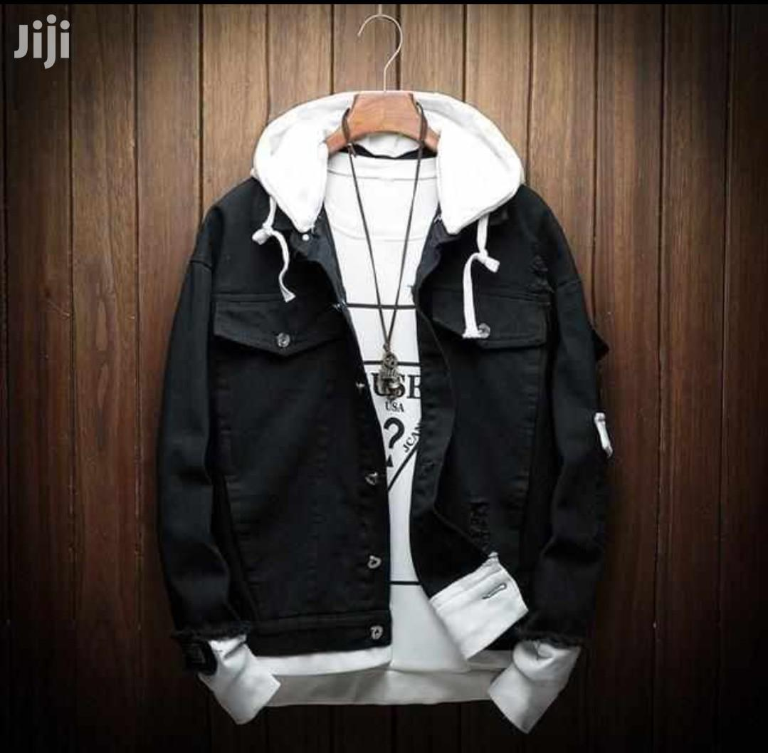 Denim Jackets/With Hood | Clothing for sale in Nairobi Central, Nairobi, Kenya