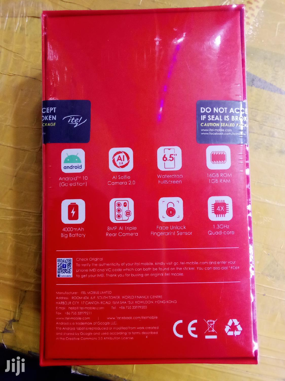 Archive: New Itel S16 16 GB Blue