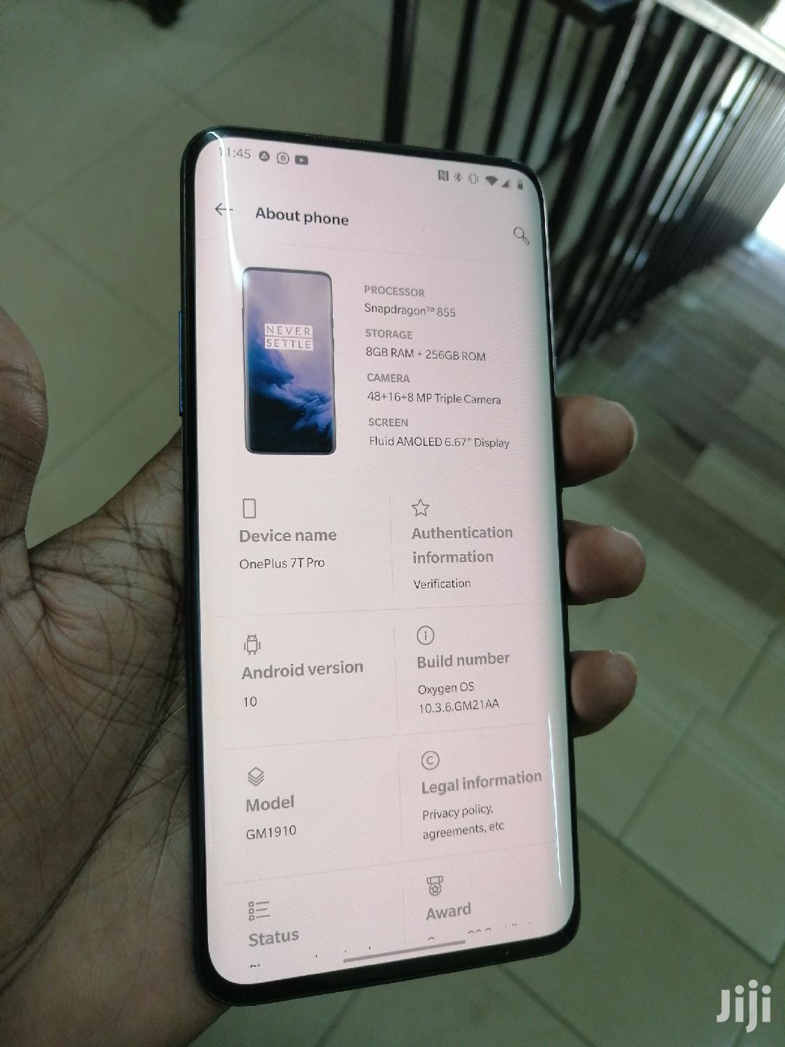 Archive: OnePlus 7T Pro 256 GB Blue