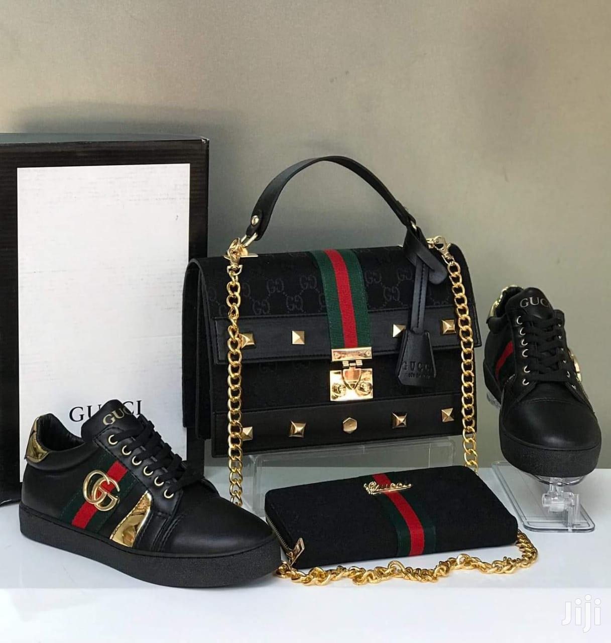 Matching Gucci Bags And Shoes