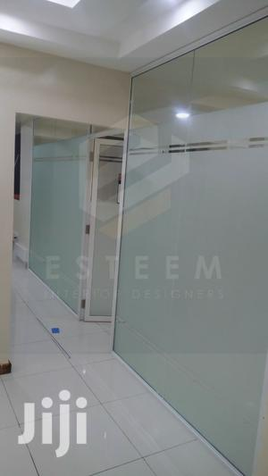 Aluminium With Glass Partitioning and Glass Door | Building & Trades Services for sale in Nairobi, Westlands