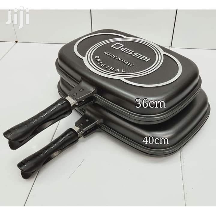40cm Dessini Double Grill Pan