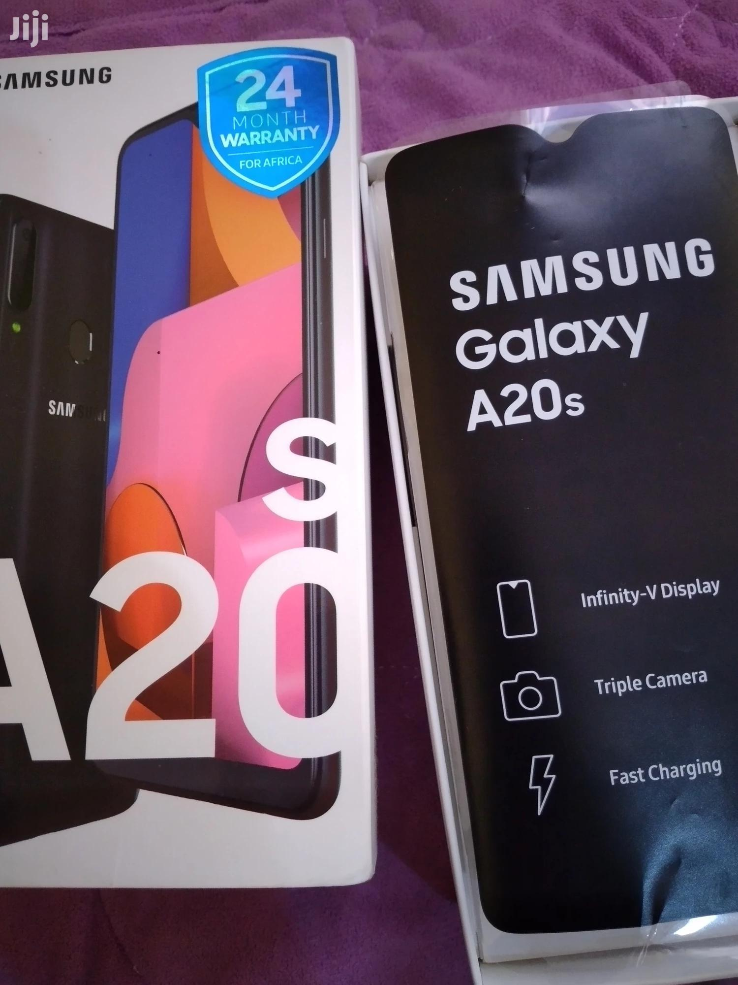 Archive: New Samsung Galaxy A20s 32 GB Black
