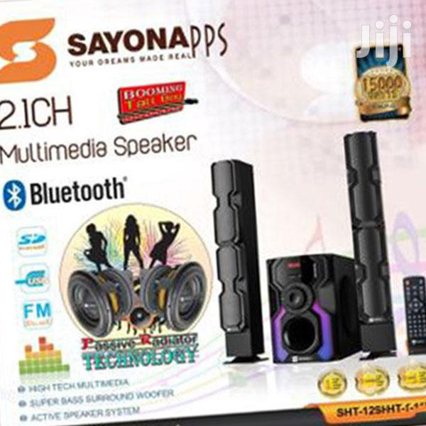 Newsayona Sht-1291bt 4.1ch Subwoofer - High Tallboy Speakers