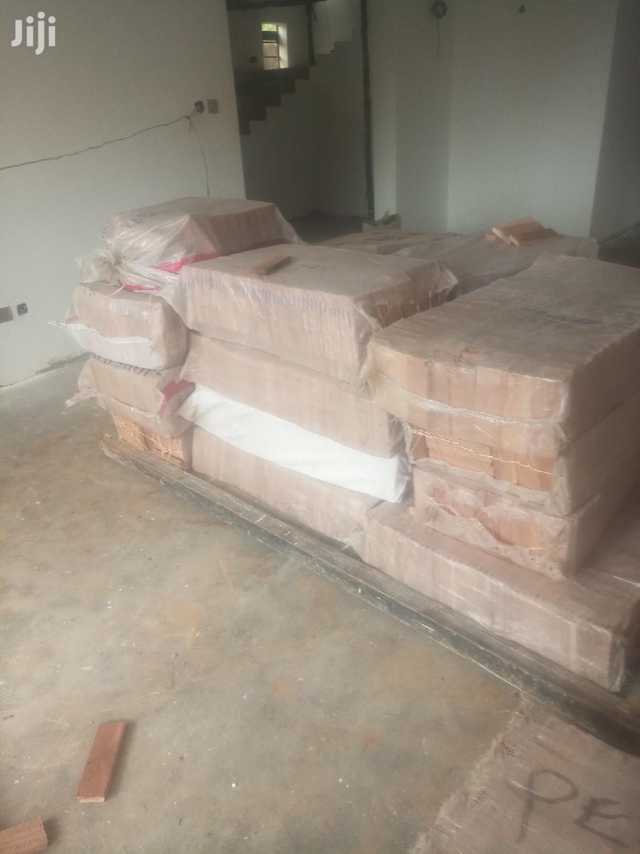 Mahogany Wooden Floor
