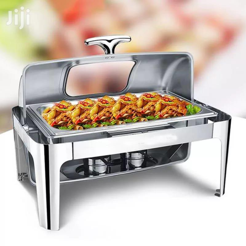 Archive: Roll Top Chafing Dish