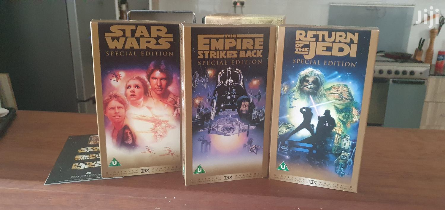 Star Wars Trilogy Gold Box Set