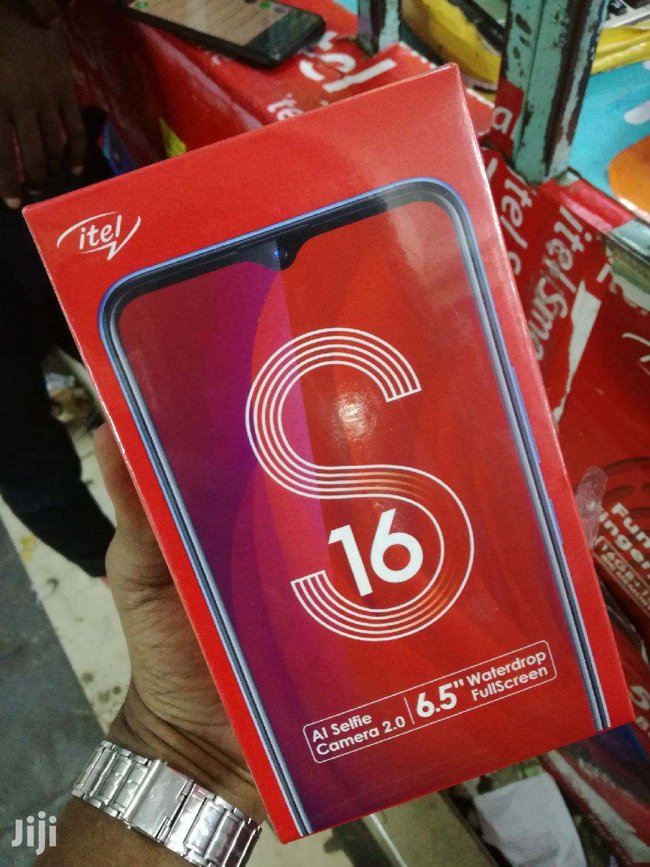 New Itel S16 16 GB Black