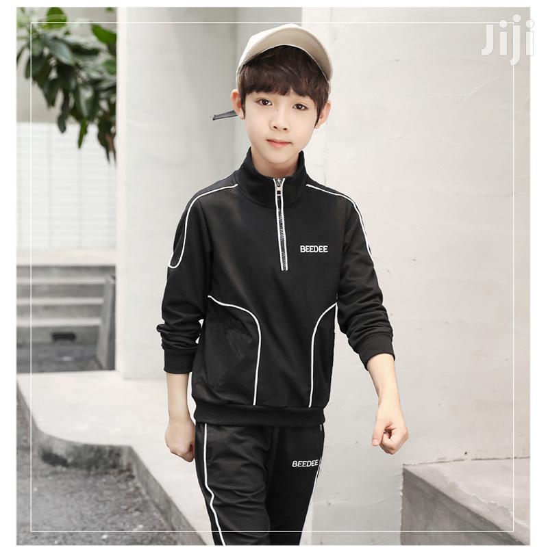 Archive: Child Boy Sports Clothes Cotton Clothing Sets Bowboy Kids Bo
