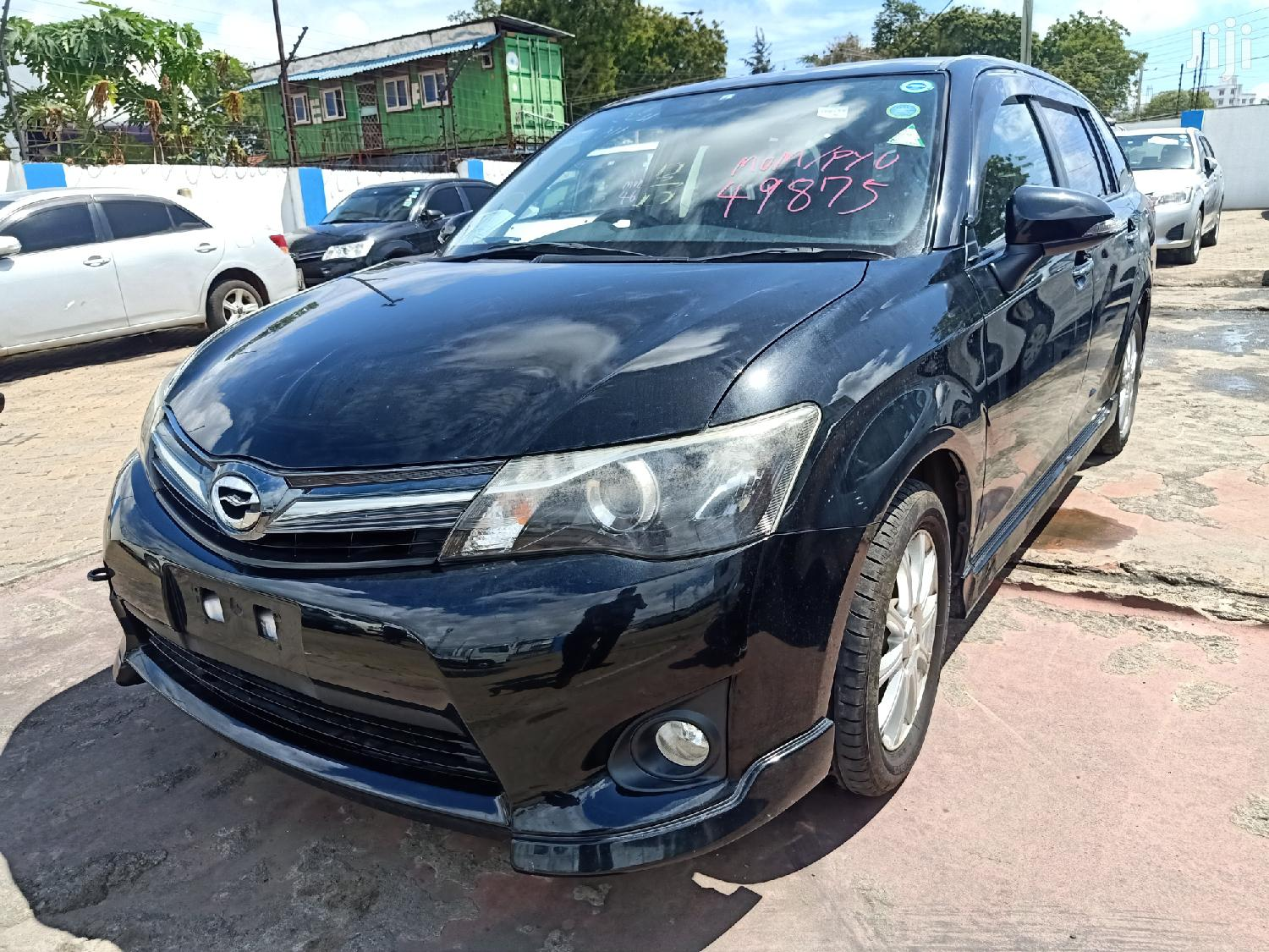 Archive: Toyota Fielder 2014 Black