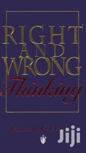 Right and Wrong Thinking-Kenneth E Hagin   Books & Games for sale in Nairobi, Nairobi Central