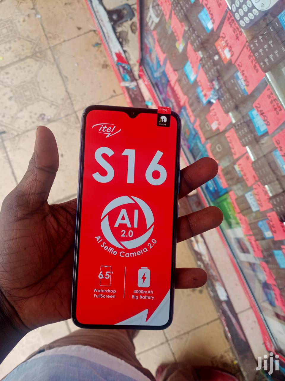 Archive: New Itel A16 8 GB Blue