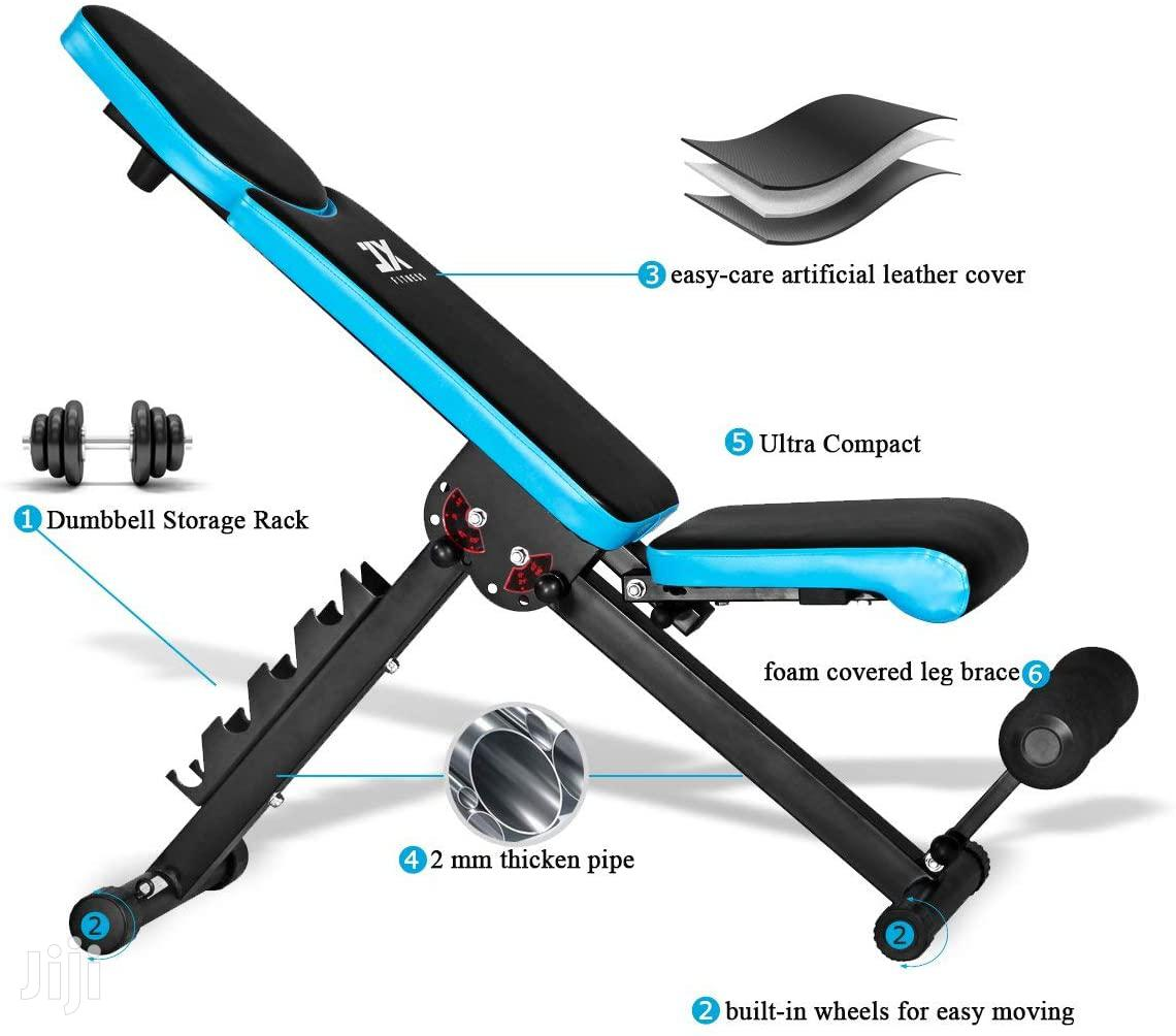 New Adjustable Dummbell Benches Incline Decline Flat