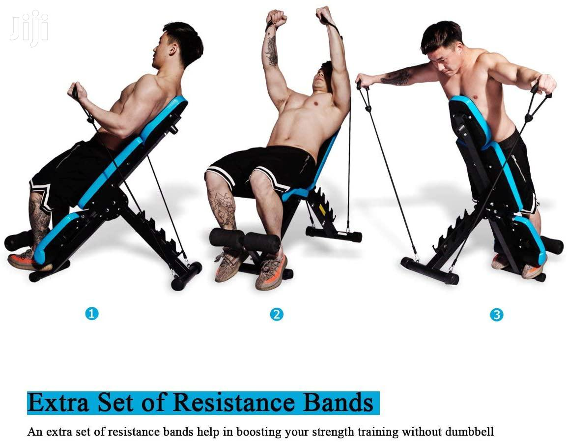 Incline Decline Flat Benches Gym