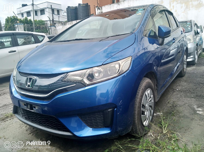 Honda Fit 2015 Blue