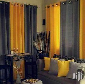 Yellow And Grey Quality Curtains   Home Accessories for sale in Nairobi, Nairobi Central