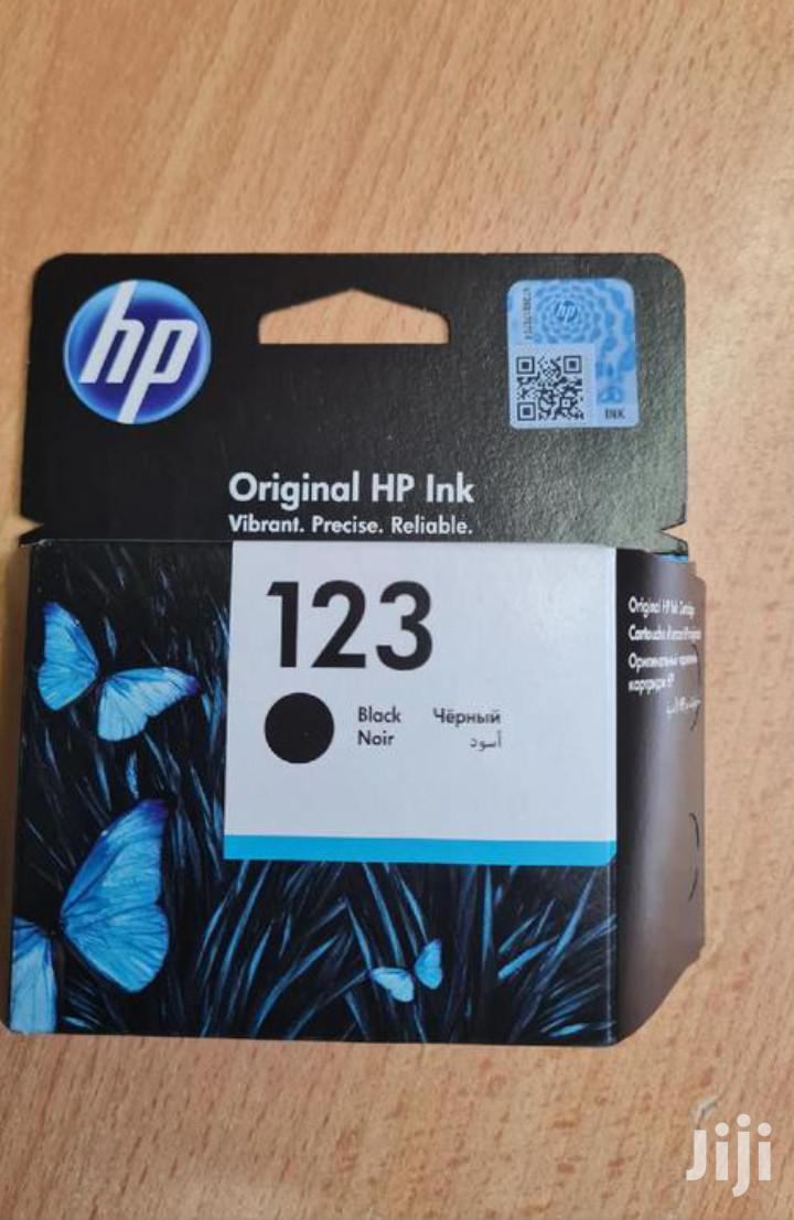 Hp 123 Cartridge Black And Colour