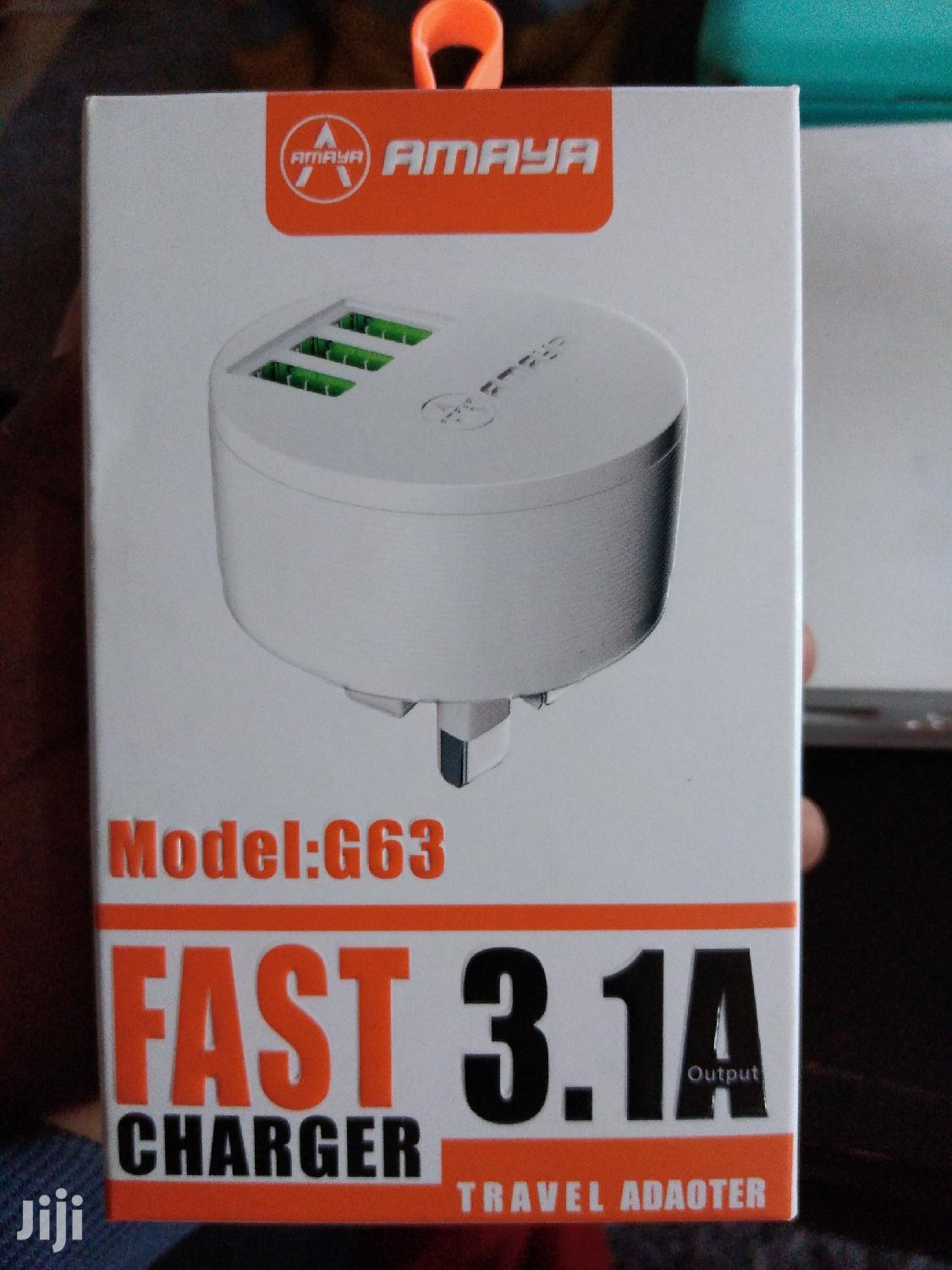 Original Amaya Fast Charger 3.1 | Accessories for Mobile Phones & Tablets for sale in Nairobi Central, Nairobi, Kenya