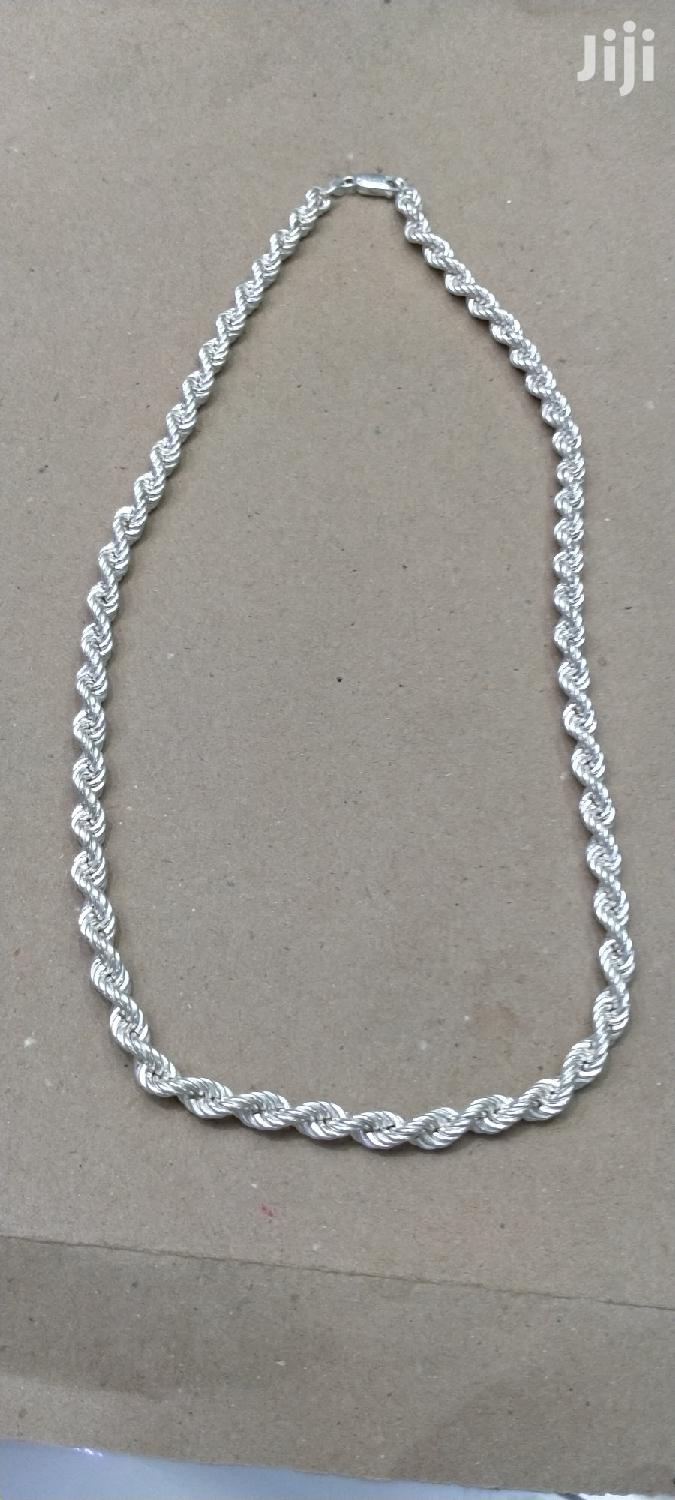 Unique Pure Silver Chain
