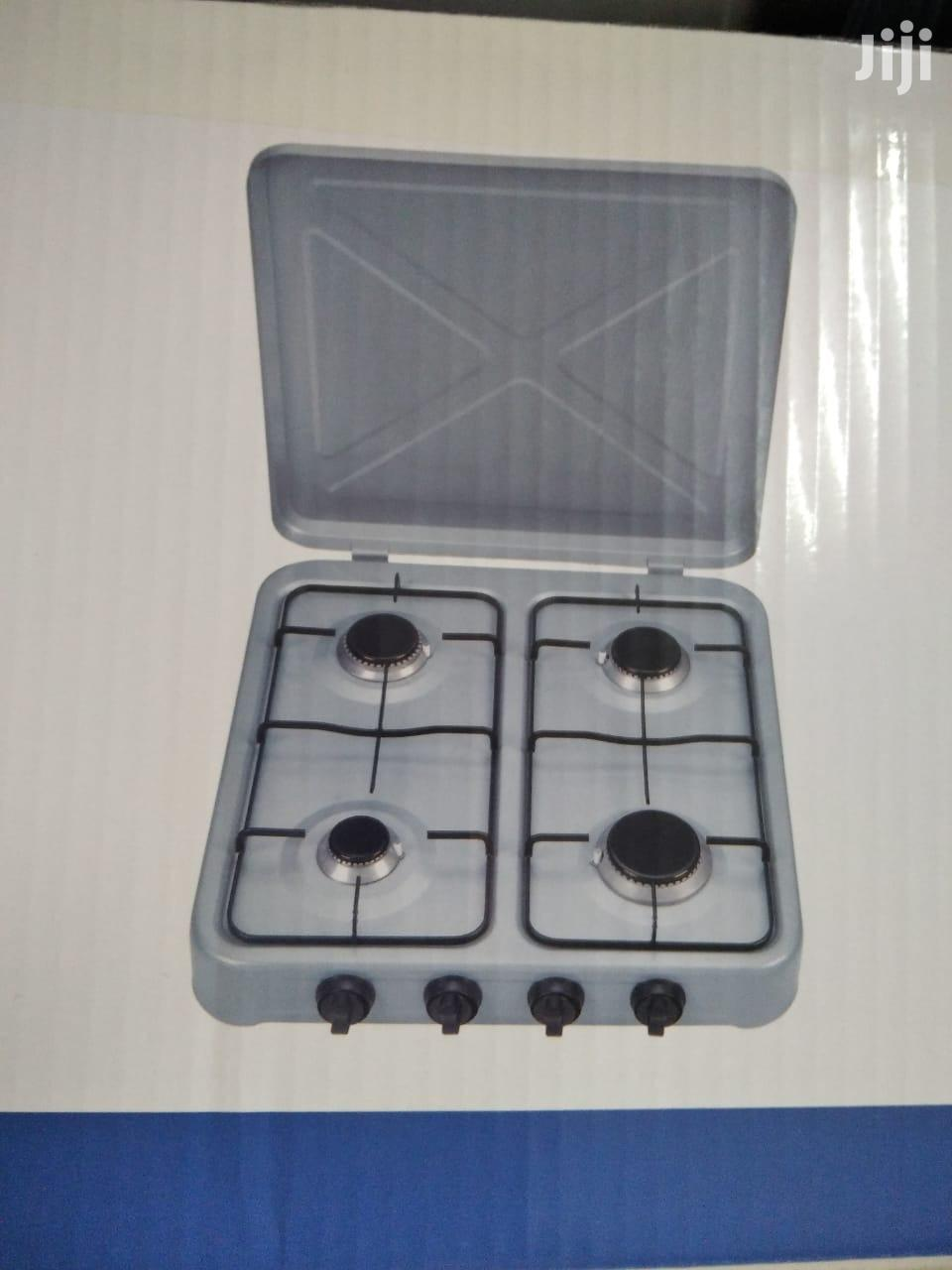 Table Top 4 Burner Gas Cooker