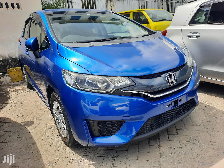 Honda Fit 2014 Blue